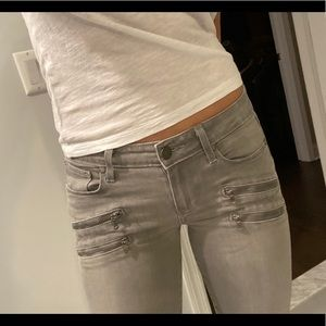 Paige jeans 26 Edgemont ultra skinny mid rise